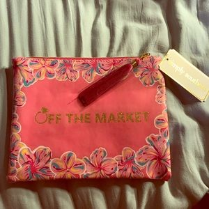 "Simply Southern ""Off The Market"" cosmetic bag"